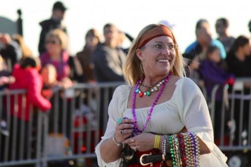 Piratess During Tampa's Children's Gasparilla Parade