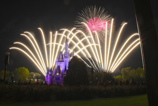 Wishes Fireworks at Disney's Magic Kingdom