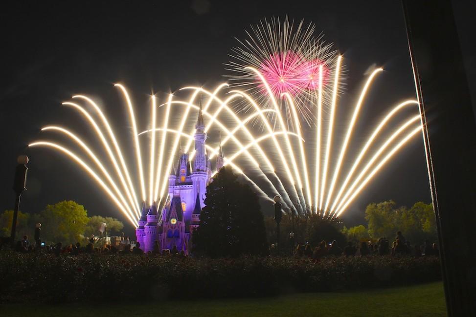 Wishes Fireworks at Disney's Magic Kingdom