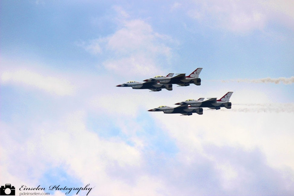 USAF Thunderbirds during Mac Dill Air Force Base AirFest