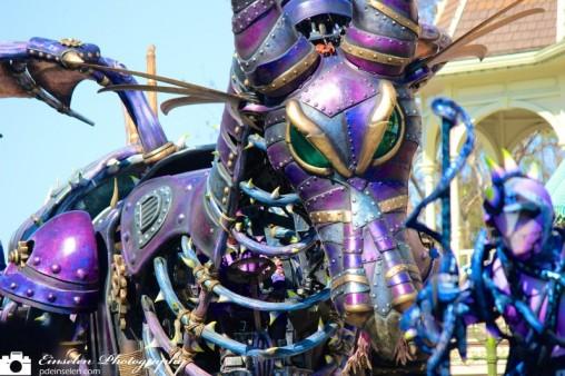Steam Punk Maleficent in Disney's Festival of Fantasy Parade