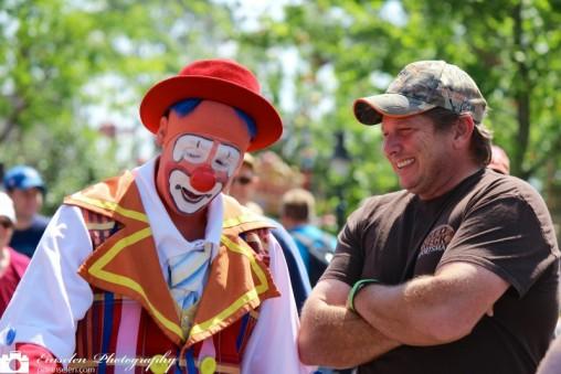 Disney Clown, Clowning around at Disney's Magic Kingdom