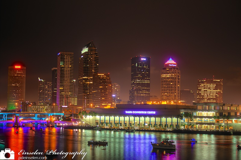 Downtown Tampa HDR Photo