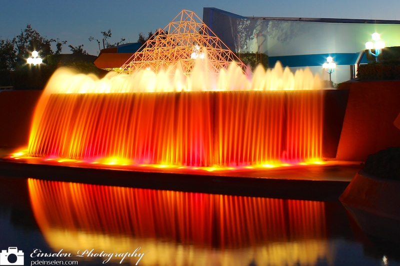 Fountain at the Imagination Pavilion